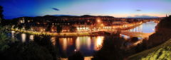 River Ness at night