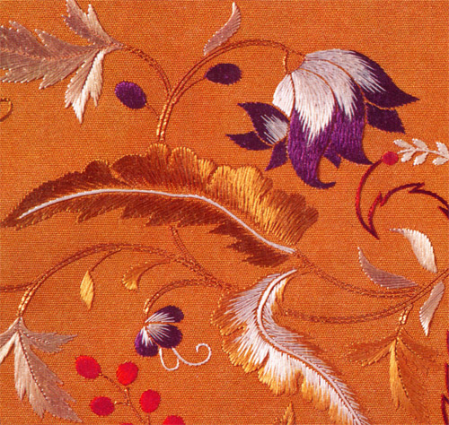 Modern japanese embroidery makaroka