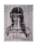 Fractured Faith - 8x10 Intaglio Print (non-toxic) 2009