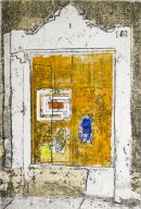 puerta de carga muella - 6.5x9.5 intaglio print (non-toxic) 2010