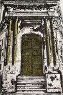 puertas de la historia - 6x9 intaglio print (non-toxic) 2010
