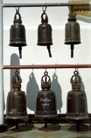 Temple bells, Chang Mai, Thailand