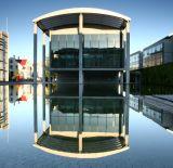 Reykjavík town hall reflection