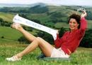Mid Wales woman Julie Davies was obviously pleased with being crowned Miss Wales!