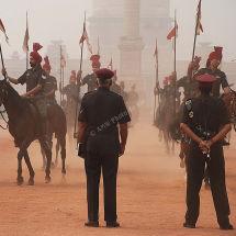 Horses Parade