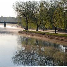 Shiplake Lock Spring Mist