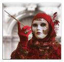 Carnival girl in red
