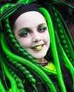 Goth in Green