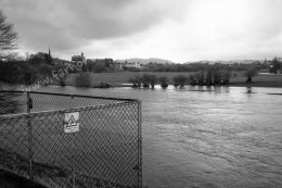 Flooded River Nith