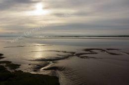 Estuary Evening Sun