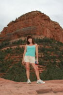 Some hot chick I met during a trip to Sedona.  