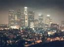 Downtown Los Angeles from the hills above...