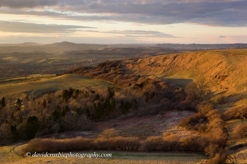 Eggardon Hill Golden Hour