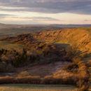 Eggardon Hill Golden Hour