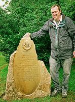 Memorial from a quarry block