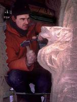 Houses of Parliament: repairing a pinnacle crocket in situ