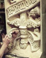 Houses of Paliament, London,  heraldic panel