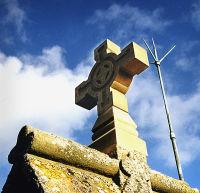 Howick Church gable cross