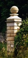 Howick gate post finials