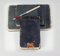 Apprentice carver's sketchbooks