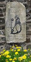 NT Lindisfarne: Jekyll plaque