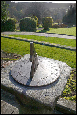 Sundial for National Trust, Cragside, Northumberland