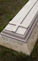 Memorial in Portland stone