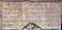 Trajan inscription