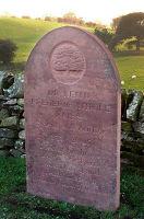 memorial in reclaimed sandstone