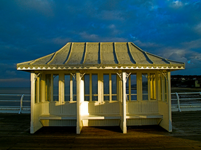 Cromer pier hut