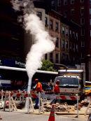New York roadworks
