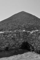 Outside the walls of Mycenae
