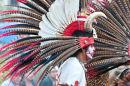 Aztec dancer's head-dress