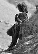 Bedouin Girl in Jordan