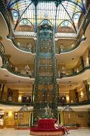Art Deco elevator, Grand Hotel
