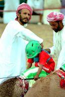 Camel jockey preparation