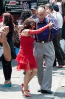 Flash mob - tango dancers