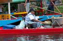 Water-borne snacks in Xochimilco