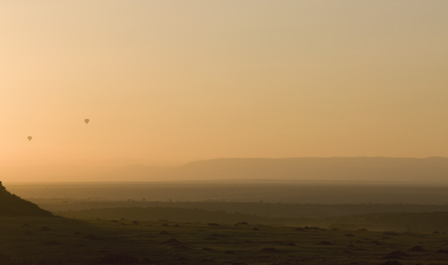 Balloons, Masai Mara, Kenya