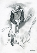 The Jockey. After Degas