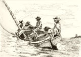 Breezing up. Winslow Homer