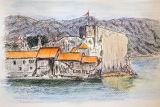 Pastel, Budva Montenegro.
