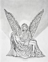 La Pieta, as an Angel.