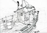 GU 136 Fishing boat.