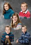 Five Hamon Children