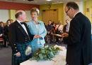 Jean & Ken Make their vows