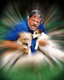 Oliver Reed & his dogs