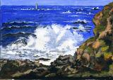 Rough seas at Pleimont
