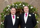 The best man & groom