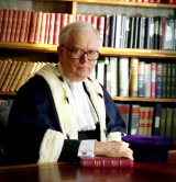 Sir Graham Dorey Bailiff of Guernsey.